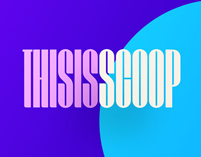 Scoop Display Font
