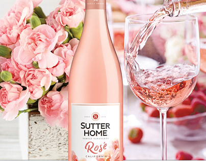 Sutter Home Rosé Retail Launch