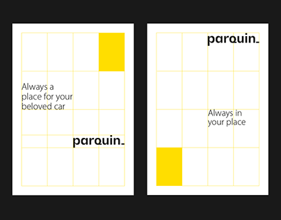 Parquin • BRANDING and visual concept