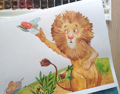 Children's book about animals