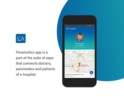 Paramedics app
