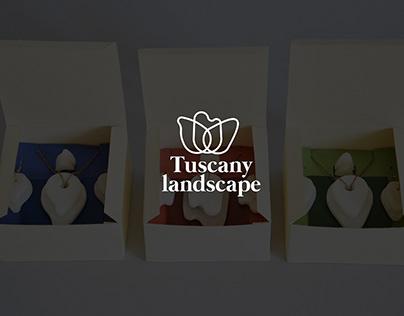 Tuscany Landscape jewelry