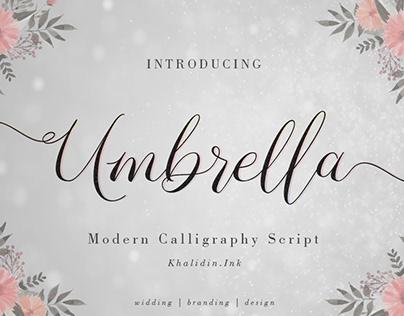 Modern Calligraphy Script