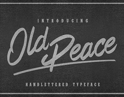 Old Peace Typeface
