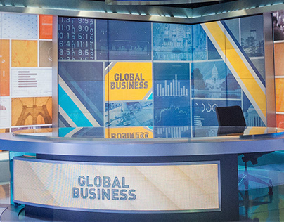 Global Business (30min) Set Design - CGTN America