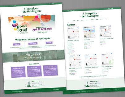 Hospice of Huntington Website