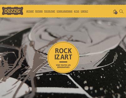Site web Dezzig