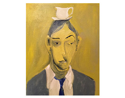 Food Heads: Paintings, drawings and concept