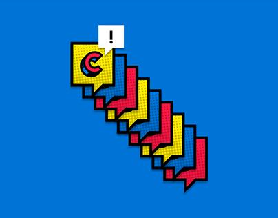 Logotipo COMIC-CON Colombia 2016