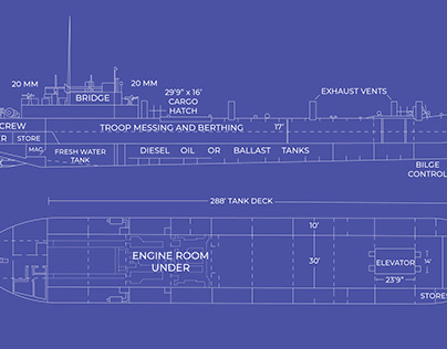 D-Day Series (Illustrations & Infographics)