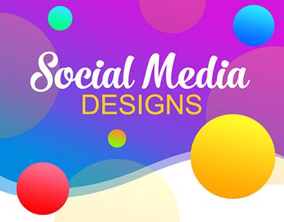 Social Media Designs.