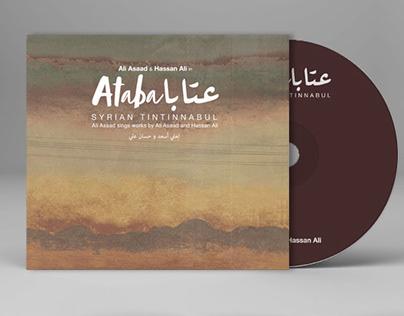 ATABA MUSIC ALBUM COVER DESIGN