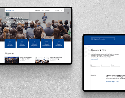 Hungarian Export Promotion Agency Website redesign
