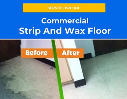 Strip And Wax Floor