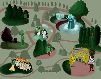 Cartographie sensible du Jardin Lecoq