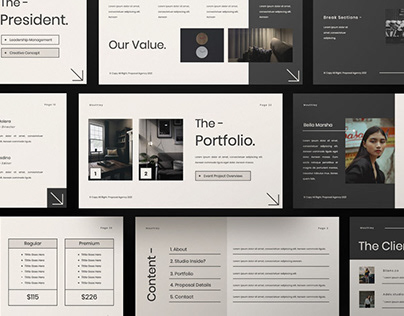 MOUTLEY Multipurpose Template