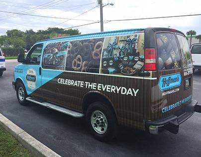Hoffman's Chocolates Vehicle Wraps
