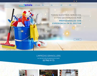Web, SEO y SEM de Actual.cat para Estela Serveis