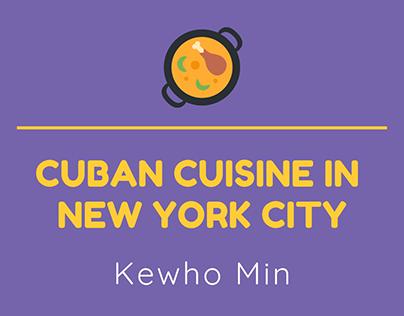 Kewho Min   Cuban Cuisine in New York City