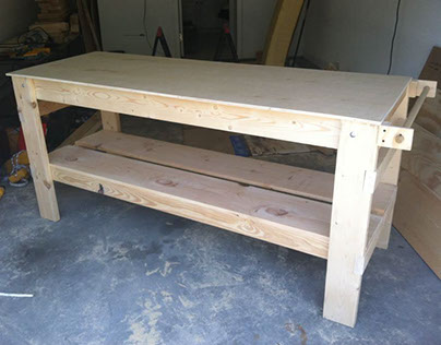 My first workbench