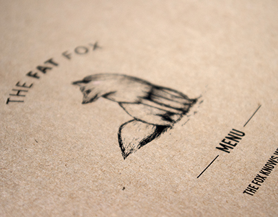 The Fat Fox Cafe // Concept