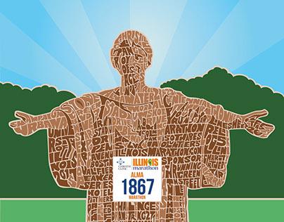 Illinois Marathon Poster