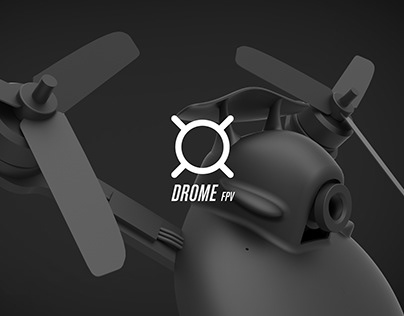 DromeFPV, First Aerodynamic FPV Racing Drone