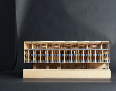 Architectural Model: Engineering Building