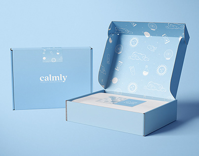 Calmly | Brand Identity
