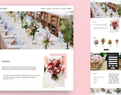 Flower boutique | Branding, Web & App Design