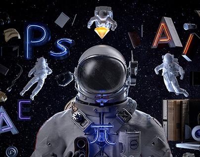 Dell π Series Creative Poster-Design π