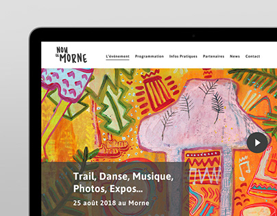 Nou Le Morne - Website Design
