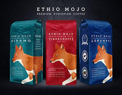 Ethio Mojo Coffee Branding & Packaging