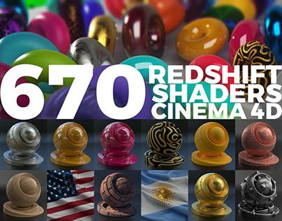 670 Redshift Shader to Cinema 4D v3