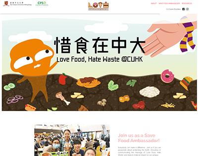 [Website] CPSO Love Food Hate Waste - CUHK