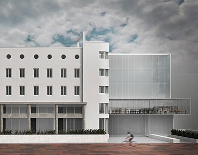 Revitalization of Interwar Modernism: Hotel Park Niš