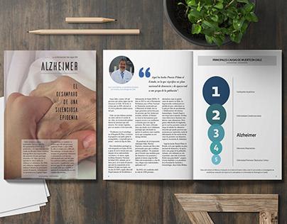 Alzheimer. Proyecto editorial