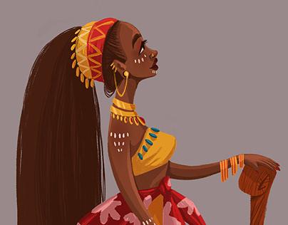 African Tribes - Character Design Challenge June 2018