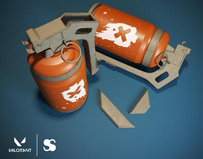 Clay's Cluster Grenade - Valorant