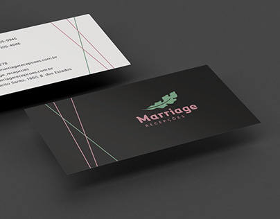 Marriage Recepções - Rebranding