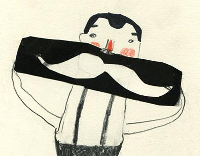 sketchbook - moustaches