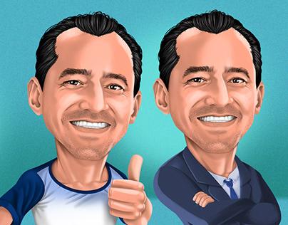 Vereador Ferruja - Caricature