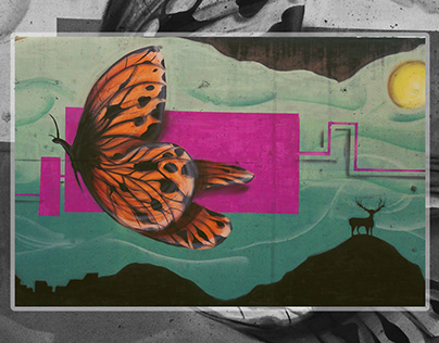 Butterfly / Battle of Styles / Mural