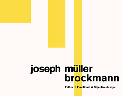 Josef Müller Brockmann Inspired Posters
