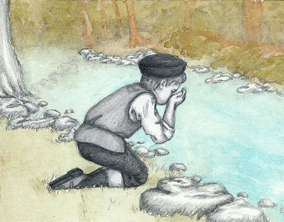 The Boy Israel and the Witch, a Jewish Folktale