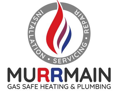 Murrmain Heating & Plumbing identity and website
