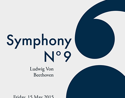 Beethoven Concert Poster