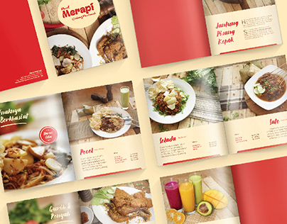 Pecel Merapi - Menu Book & Promotional Item