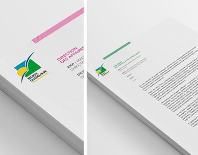 Charte Graphique Interne Région Guadeloupe