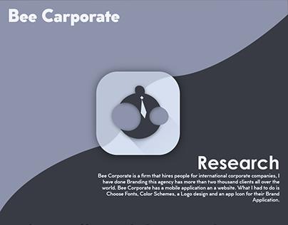 Corporate hiring agency | App Icon | Case Study
